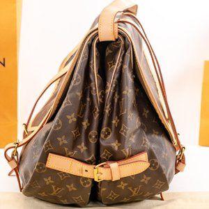 Louis Vuitton Bags - LOUIS VUITTON huge Saumur 43 Monogram Bag